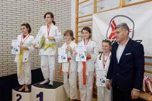 Dziewięć medali dla żukowskich zawodników w Mistrzostwach Pomorza w Judo Dzieci i Młodzików 2017