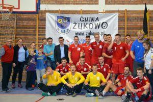 SPR GKS Żukowo - WKS Grunwald Poznań. Czwarte z rzędu, a pierwsze we własnej hali zwycięstwo Żukowa
