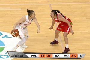 Anna Makurat zadebiutowała w reprezentacji Polski. Sporo minut i punktów w meczu z Białorusią