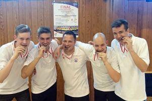 Czterech kartuzian wraz z MTS-em Kwidzyn zdobyło brązowe medale mistrzostw Polski U18