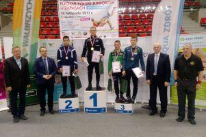 Aleksander Mielewczyk i Grzegorz Kunkel na podium ostatnich w sezonie zawodów PP w Wałbrzychu