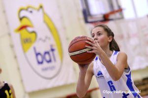 Koszykarki Batu wygrały dwa ligowe mecze i zagrały w turnieju w Białymstoku