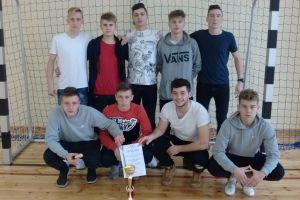 Reprezentacja ZST Kartuzyawansowała do finału wojewódzkiej licealiady w futsalu