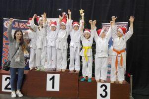 Sukces Oliwii Pieczykolan i innych judoków GKS-u Żukowo w Mikołajkowym Turnieju Tomita Judo Cup w Elblągu