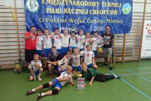 UKS Trops Kartuzy wygrał X Międzynarodowy Turniej Piłki Ręcznej Chłopców o Puchar Wójta Mielna