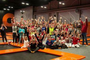 Judocy GKS-u Żukowo świętowali mikołajki i dziesiąte urodziny sekcji w Jump City