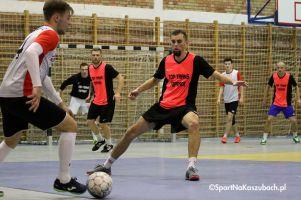 Wielkie emocje w meczu na szczycie Żukowskiej Ligi Futsalu Budmax - Top Trans