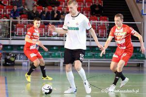 FC Kartuzy - KU AZS Uniwersytetu Zielonogórskiego. W niedzielę ostatni mecz I ligi futsalu w tym roku