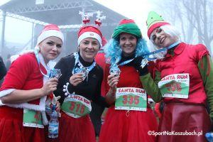 Mikołajkowy Festiwal Zdrowia - Santa Run 2017 w Kartuzach. Wystartowało ponad 1000 kolorowych biegaczy (zdjęcia cz. 1)