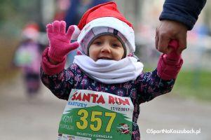 Santa Run - Mikołajkowy Festiwal Zdrowia 2017 w Kartuzach. Biegi dla dzieci i młodzieży (zdjęcia cz. 3)
