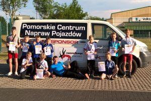 Zagraniczny sukces młodych zapaśników z Żukowa