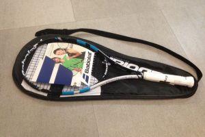Rakieta z podpisem Radwańskiej i inne licytacje dla WOŚP na turnieju squasha w Studio S7 Banino