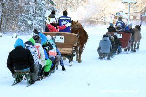 Zima 2018 na Kaszubach: wszystkie stoki narciarskie otwarte, ruszyły kuligi w Szymbarku
