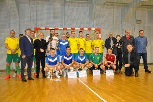 Max - Bruk, Stolem i Markbud na podium Halowego Turnieju Piłki Nożnej o Puchar Starosty Lęborskiego 2018
