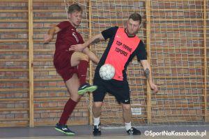 Żukowska Liga Futsalu. Duże emocje w meczu na szczycie Budmax Przodkowo - Top Trans Toporek