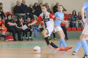 Faworytki wygrały bytowski turniej eliminacyjny Młodzieżowych Mistrzostw Polski U14 Kobiet w Futsalu