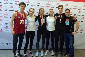 Julia Dias i Tomasz Kurowski ze srebrnymi medalami PZLA Halowych Mistrzostw Polski w Toruniu U20