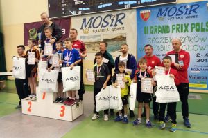 Życiowe sukcesy młodych tenisistów z powiatu w Grand Prix Polski