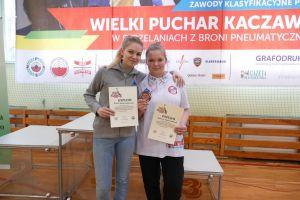 Magdalena Malotka - Trzebiatowska z pierwszy medalem w juniorkach na zawodach klasyfikacyjnych w Złotoryi