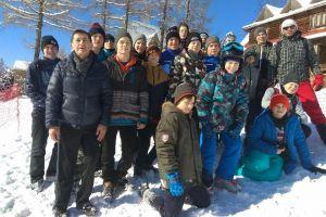 Kadeci sekcji zapaśniczej Cartusii Kartuzy trenowali na obozie w Zakopanem