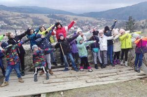 Zimowisko sekcji judo GKS-u Żukowo. Dzieci jeździły na nartach, trenowały i poznawały Muszynę