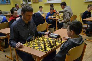 Mistrzostwa Gminy Żukowo w Szachach 2018. Piotr Bekier i Ryszard Wicki najlepsi w pierwszym turnieju