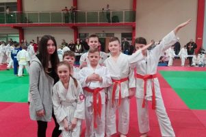 Judocy GKS-u Żukowo zdobyli pięć medali na turnieju Gryfek w Słupsku