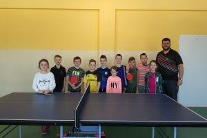 LUKS Panda Sierakowice przygotował na ferie obóz i turniej tenisa stołowego
