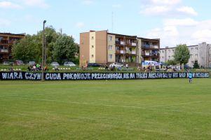 Sporting Leźno - GKS Kowale 1:6 (1:3). Nie było trzeciego z rzędu zwycięstwa na pożegnanie z V ligą