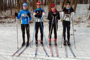 Dużo śniegu i świetne warunki na trasach biegowych Cartusia Ski Arena w Kartuzach