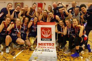 Koszykarki z Kartuz i Sierakowic mistrzyniami Polski U22 w barwach VBW GTK Gdynia