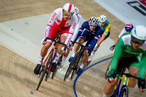 Szymon Sajnok rozpoczyna Mistrzostwa Świata w Kolarstwie Torowym w Holandii