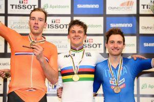 Szymon Sajnok mistrzem świata! Wygrał omnium na torowych mistrzostwach w Holandii