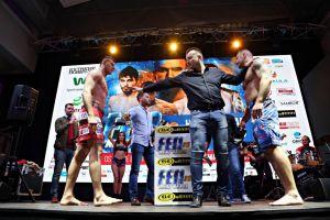 Artur Bizewski walczy dziś na gali FEN 20 Next Level w Warszawie z Arkadiuszem Wrzoskiem