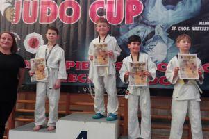 Judocy GKS-u Żukowo stawiali pierwsze kroki w turnieju dzieci Grizzly Judo Cup w Gdańsku