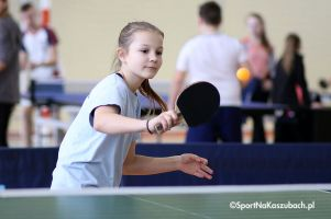 Ostatnie Powiatowe Turnieje Klasyfikacyjne w Tenisie Stołowym w Miechucinie dla najmłodszych zawodników