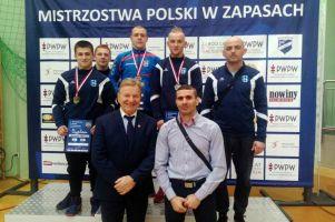 Aleksander Mielewczyk, Nikodem Drewa i Jakub Hildebrand na podium Mistrzostw Polski Juniorów w Zapasach 2018