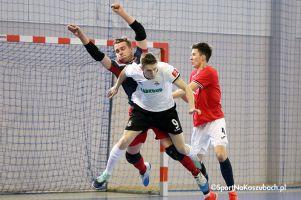 FC Kartuzy - Mieszko Gniezno. W niedzielę przedostatni mecz I ligi futsalu w Kiełpinie