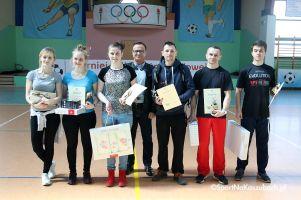 Mistrzostwa Gminy Przodkowo w Tenisie Stołowym 2018. Justyna Borak i Krystian Kreft zwycięzcami