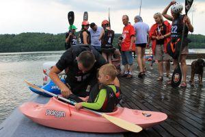 I dzień zawodów Strawberry Kayak Games i regat Pucharu Meczowych Mistrzostw Polski na Złotej Górze