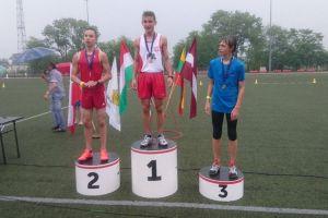 Kacper Adamczyk z GKS-u Żukowo wygrał Międzynarodowy Puchar Lekkoatletyczny 2016 w Łowiczu