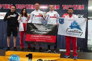 Mikołaj Krause i Nikodem Bigus z Rebelii na podium Pucharu Świata w Kick - Boxingu Austrian Classic 2018
