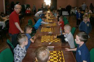 Najmłodsi szachiści zagrali w Kartuzach o tytuły mistrzów Pomorza