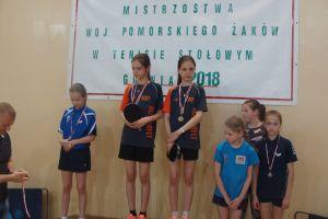Agata Felskowska, Jagoda Felskowska i Samuel Michna mistrzami Pomorza w kategorii żaków i skrzatów
