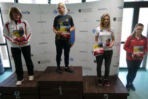 Diana Malotka - Trzebiatowska na podium zawodów Pucharu Polski w Bydgoszczy