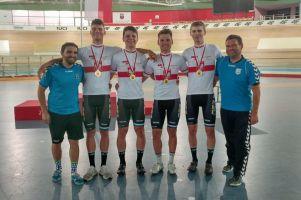 Cartusia Kartuzy drużynowym mistrzem Polski U23 w torowym wyścigu drużynowym na dochodzenie