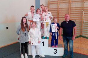 Osiem medali dzieci i młodzików GKS-u Żukowo na turnieju judo w Jezierzycach