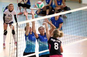 Mecz o brązowy medal ligi siatkówki w Przodkowie na zdjęciach