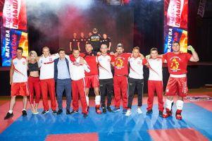 Adam Kryszewski i Nikodem Bigus walczyli w meczu kick - boxingu Ukraina - Polska w Kijowie