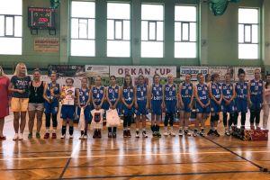 Koszykarki Batu Kartuzy stanęły na podium turnieju Orkan Cup 2018 w Zambrowie